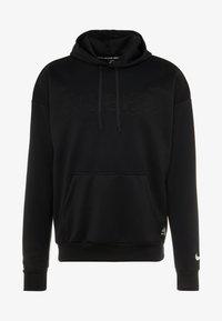 Nike Performance - FC HOODIE - Hoodie - black/white - 5