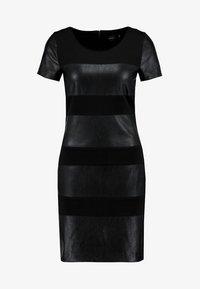 ONLY - ONLNEW MARGOT MIX DRES - Vestido ligero - black - 4
