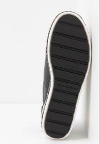 KARL LAGERFELD - KOBO KUP 3 EYE TIE - Sneakers basse - black - 6