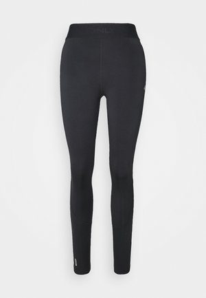 ONPGILL HISS BRUSHED TRAINING - Leggings - black