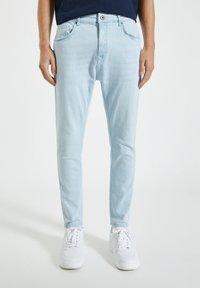 PULL&BEAR - Slim fit jeans - blue denim - 0