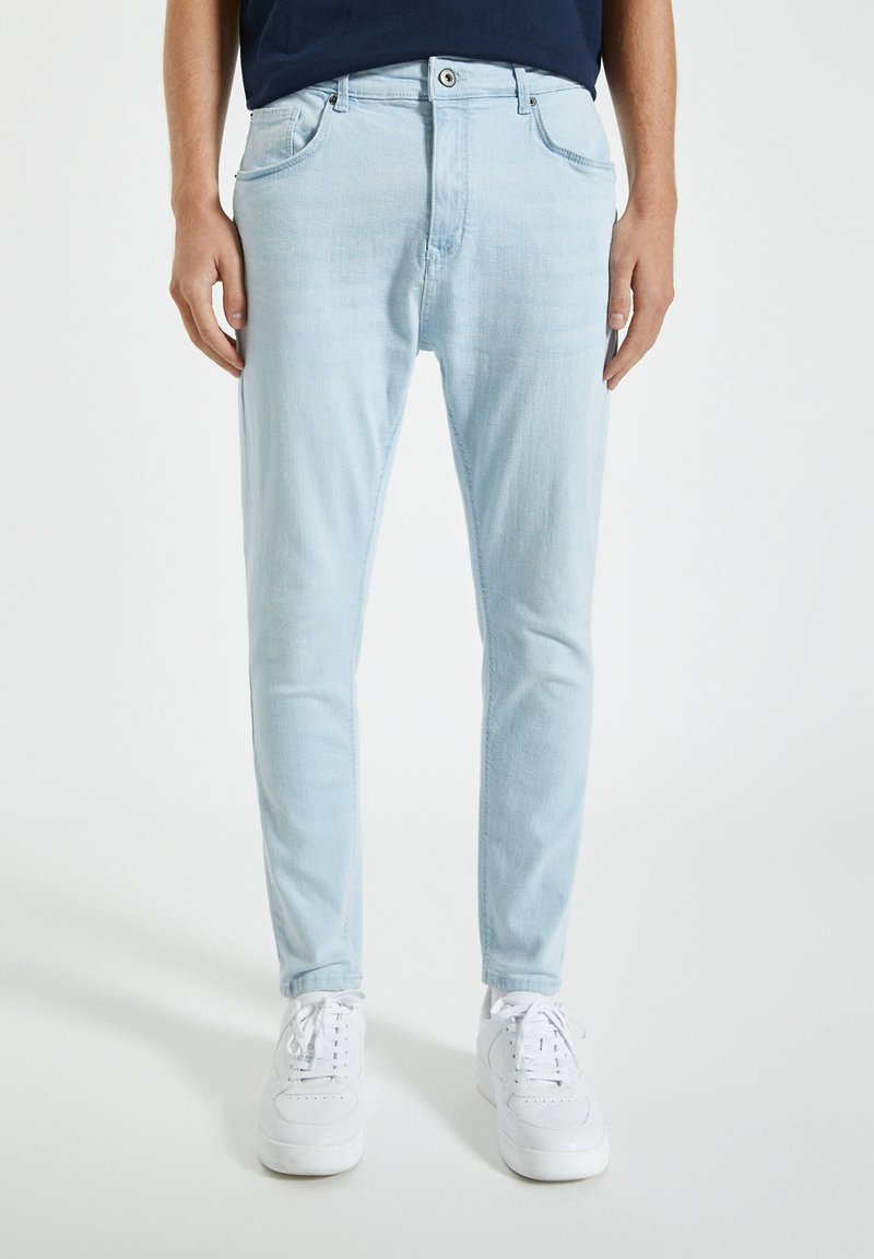 PULL&BEAR - Slim fit jeans - blue denim