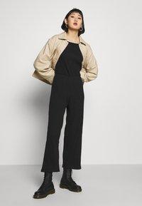 Even&Odd - BASIC - Jumpsuit - Overal - black - 1
