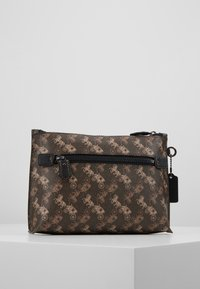 Coach - HORSE AND CARRIAGE ROCKET CHARLIE POUCH - Trousse - brown/black - 3