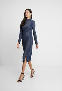 Glamorous - OPEN BACK PARTY DRESS - Cocktail dress / Party dress - navy - 0