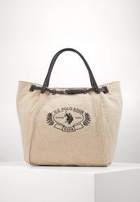 U.S. Polo Assn. - ELMORE - Tote bag - natural/black - 0