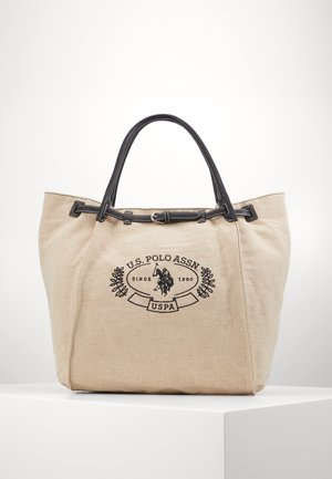 ELMORE - Shopping Bag - natural/black