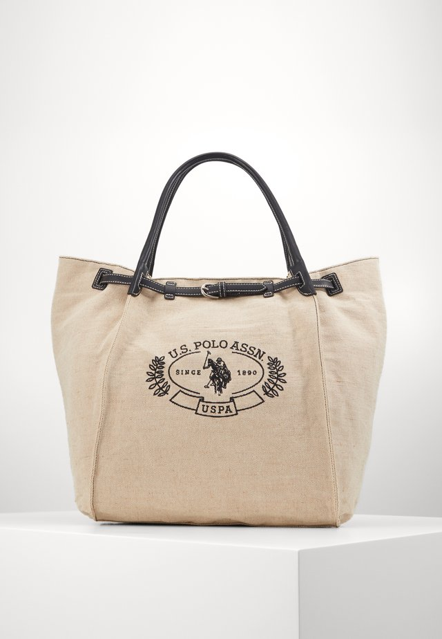 ELMORE - Tote bag - natural/black