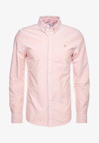 Farah - BREWER SLIM FIT - Shirt - peach - 5