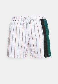 Karl Kani - RETRO BLOCK PINSTRIPE - Shorts - white - 3