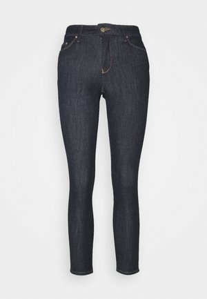 ONLHUSH LIFE - Jeansy Skinny Fit - dark blue denim