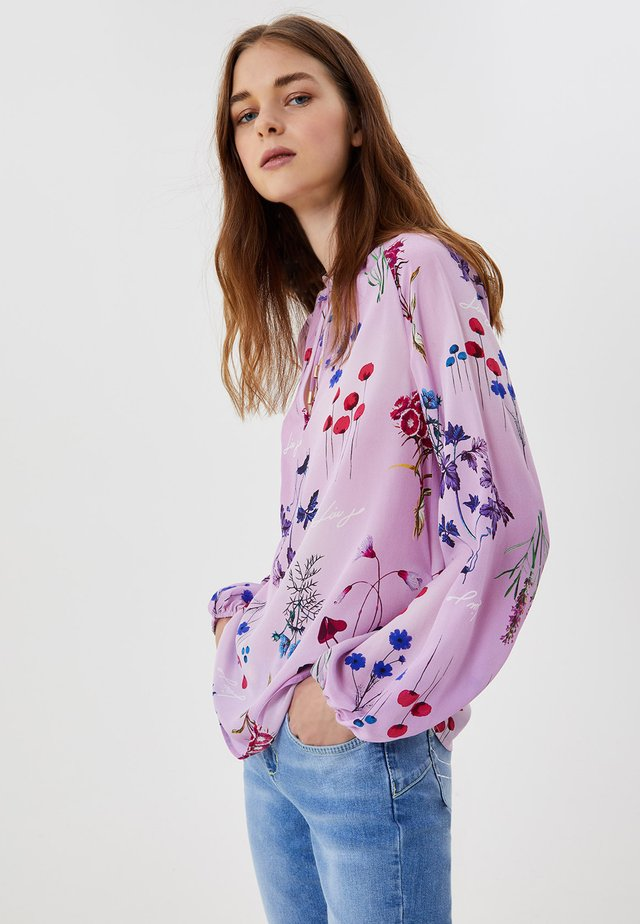 Blouse - violet