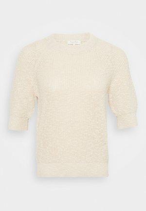 DELARAP - Basic T-shirt - parchment