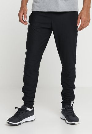 ALLSEASONGEAR SPORTSTYLE TRAININGSHOSE HERREN - Tracksuit bottoms - black/white