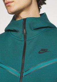 Nike Sportswear - HOODIE 2 TONE - Zip-up hoodie - dark teal green/blustery - 4