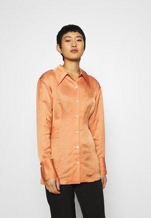 Skjorte - orange medium dusty