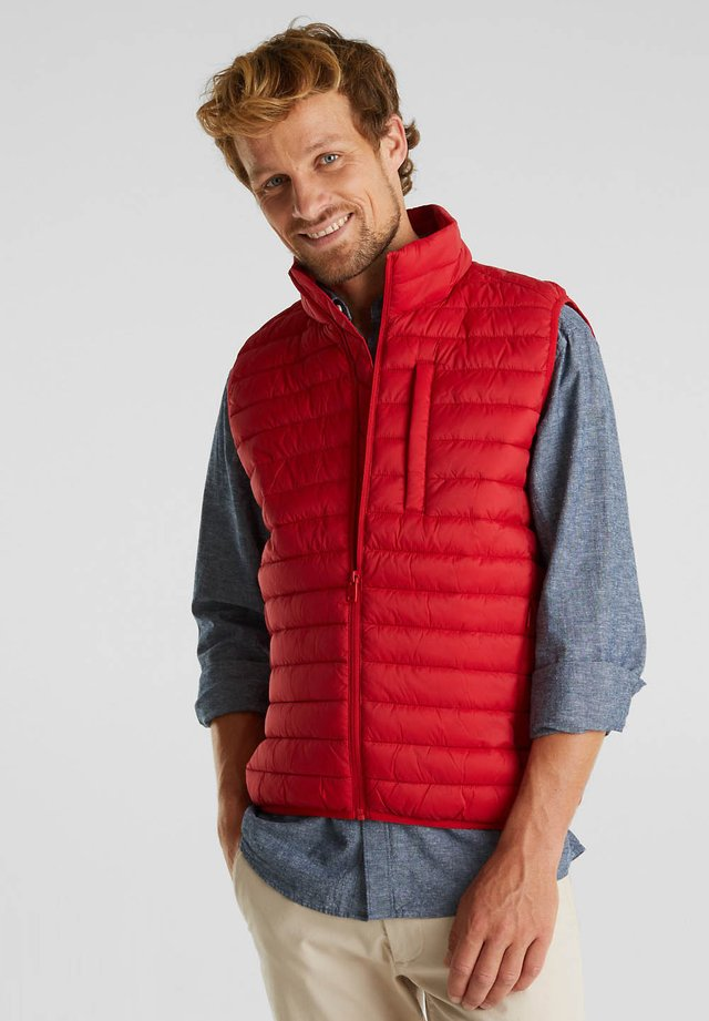 RECTHINS  - Waistcoat - red