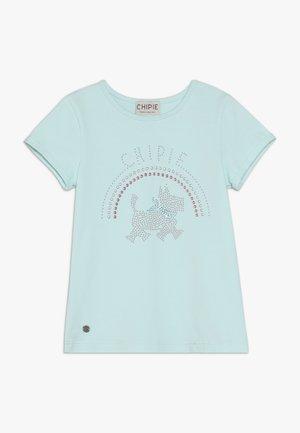 T-shirt imprimé - lagune