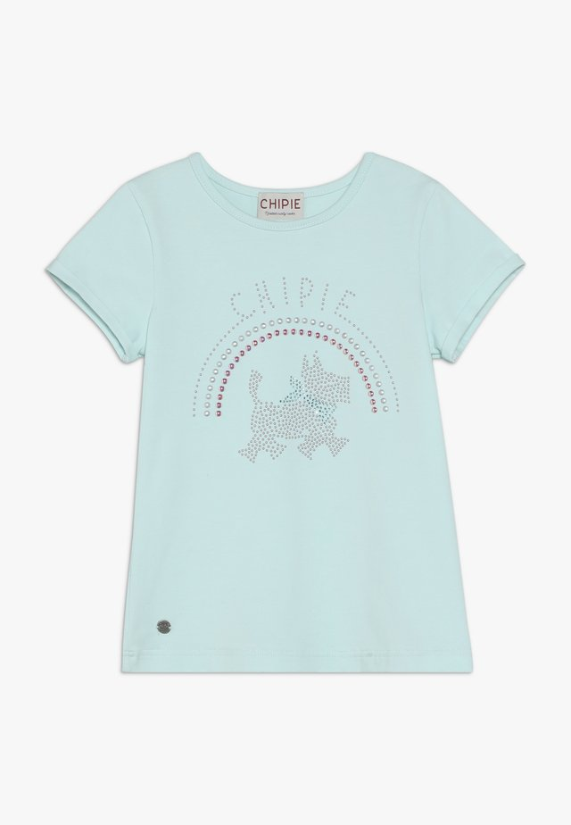 T-shirt con stampa - lagune