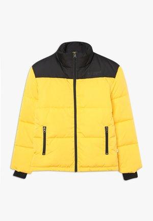 TITAN JACKET - Winterjas - black/yellow