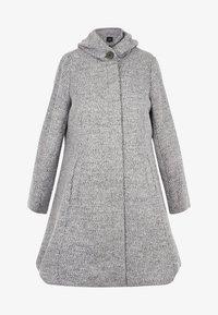 Zizzi - Classic coat - light grey - 1