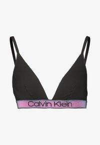 Calvin Klein Underwear - TONAL LOGO UNLINED - Triangel-BH - black - 4