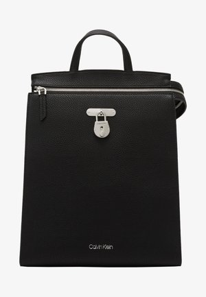 DRESSED BUSINESS BACKPACK - Ryggsekk - black