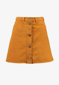 Monki - MARY SKIRT - A-line skirt - tobacco - 4
