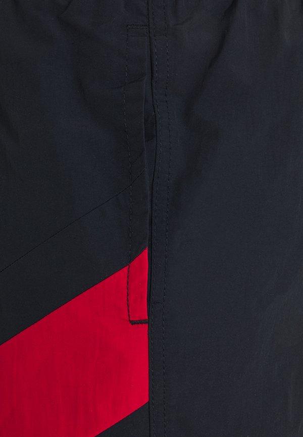 Tommy Hilfiger SOLID FLAG DRAWSTRING - Szorty kąpielowe - blue/czarny Odzież Męska IKQD