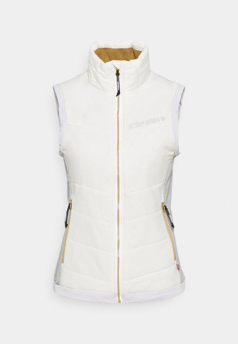 Icepeak - DAHN - Waistcoat - natural white