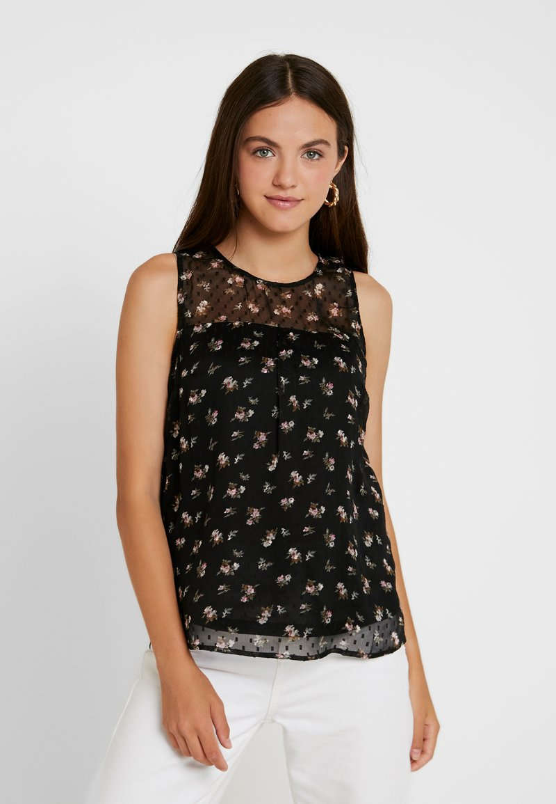 ONLY - ONLTHEA - Bluse - black/jolyn