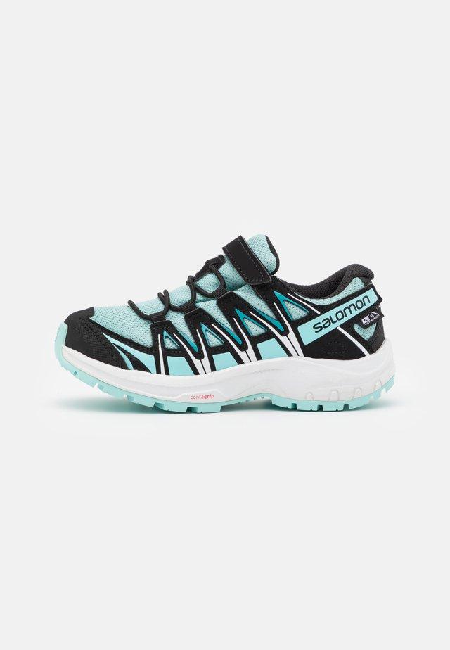 XA PRO 3D CSWP UNISEX - Hiking shoes - pastel turquoise/black/tanager turquoise