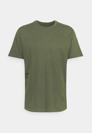 UTILITY SYMBOL - T-shirt con stampa - khaki