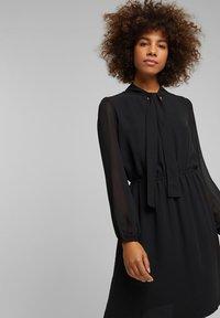 Esprit - FASHION - Day dress - black - 5
