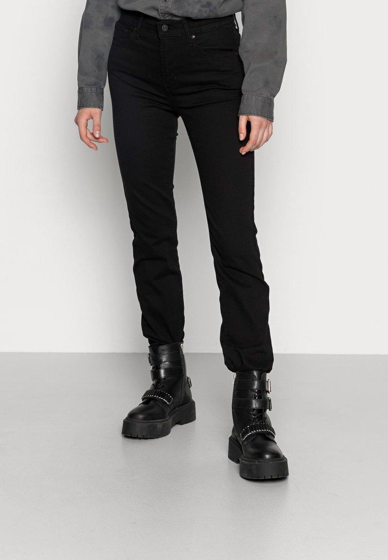 Levi's® - 724 HIGH RISE - Jeans straight leg - black sheep
