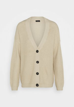 LONG CARDIGAN - Kofta - beige