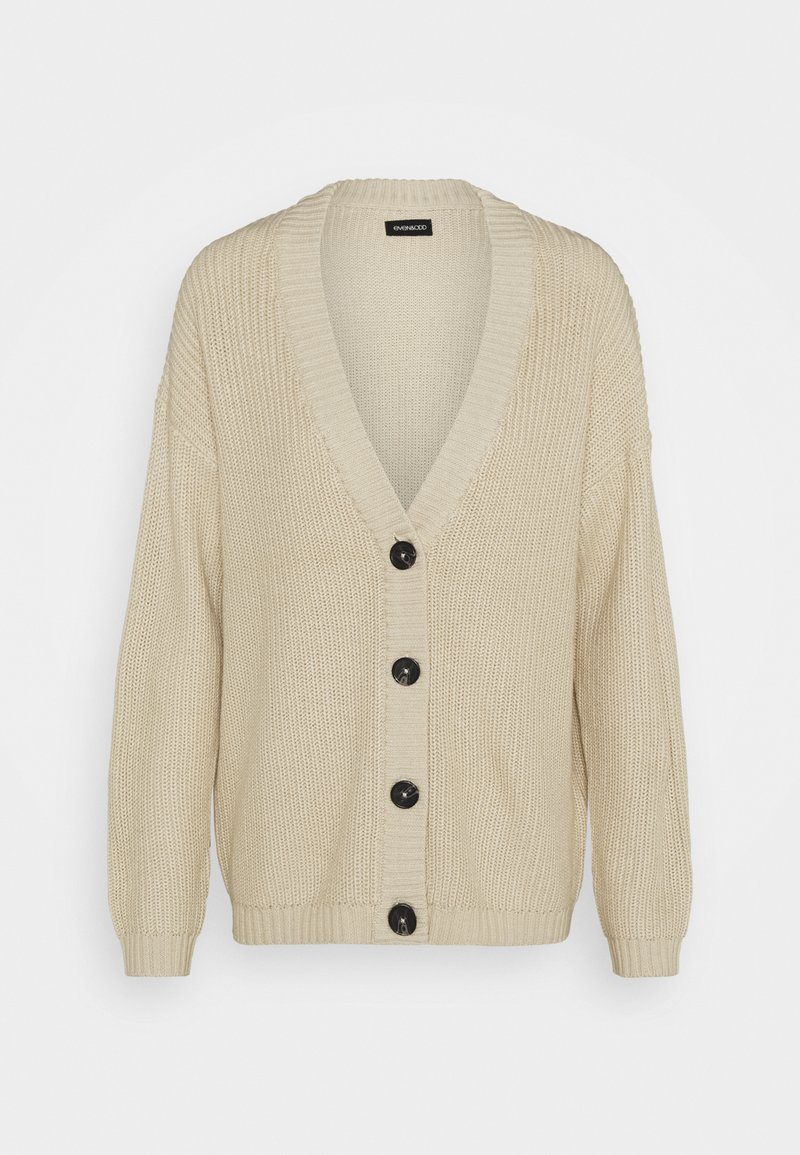 Even&Odd - LONG CARDIGAN - Cardigan - beige