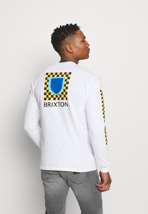 BETA CHECKERS - Long sleeved top - white