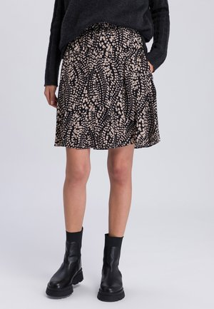 A-line skirt - caviar varied