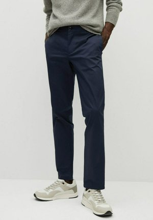 DUBLIN7 - Trousers - dunkles marineblau