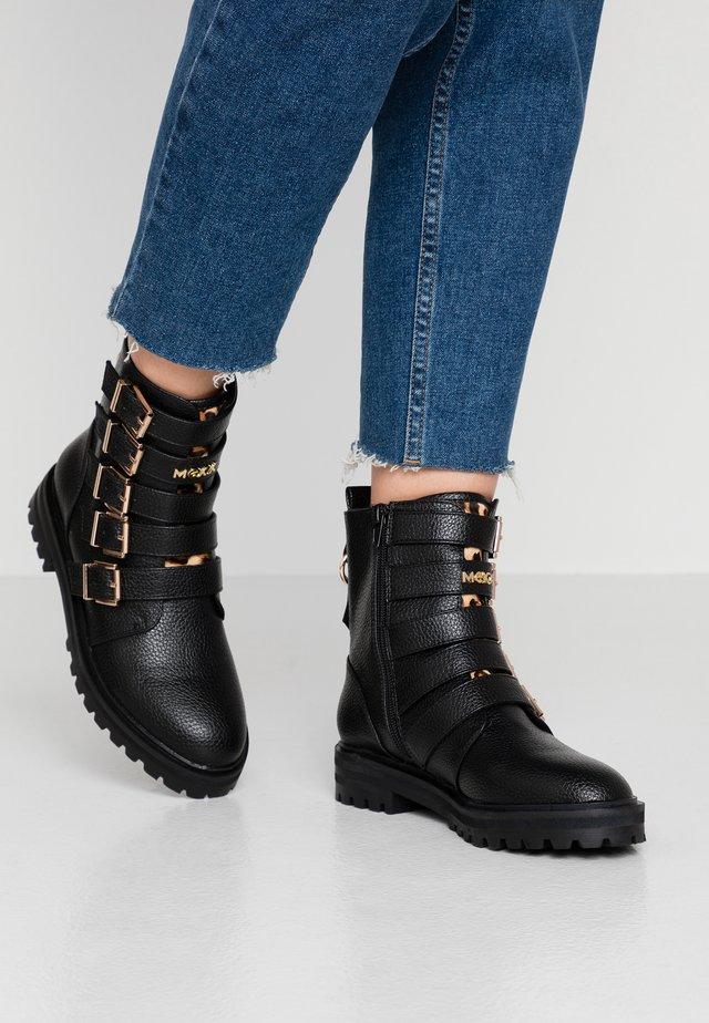 DIDO - Cowboy/biker ankle boot - black