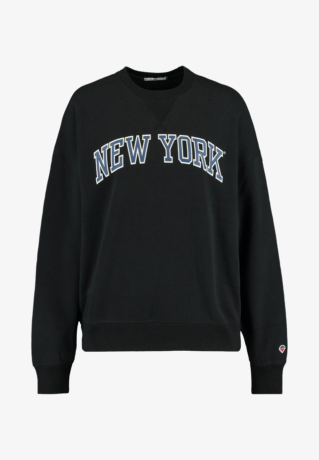 SUE - Sweater - washed black