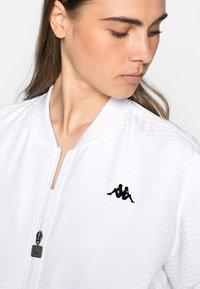 Kappa - ILVA - Training jacket - bright white - 5
