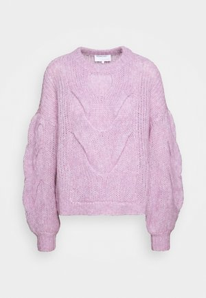 ANTICO CABLE - Sweter - lavender