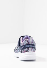 Skechers - GLIMMER KICKS - Trainers - navy/multicolor/rock glitter/lavender/light pink - 3