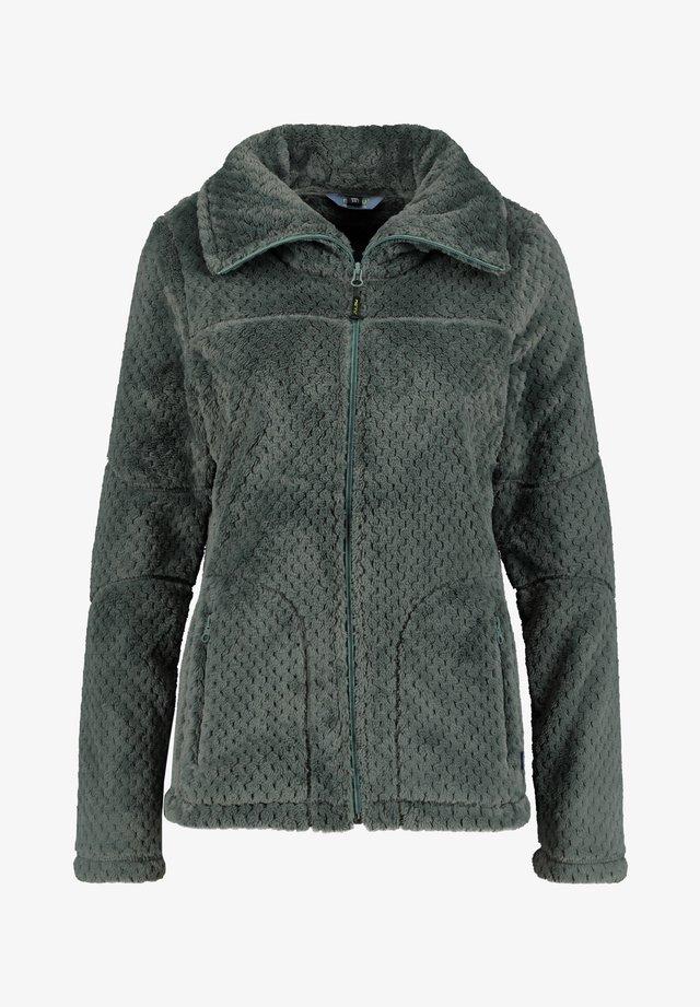 KALUGA - Fleece jacket - schilf