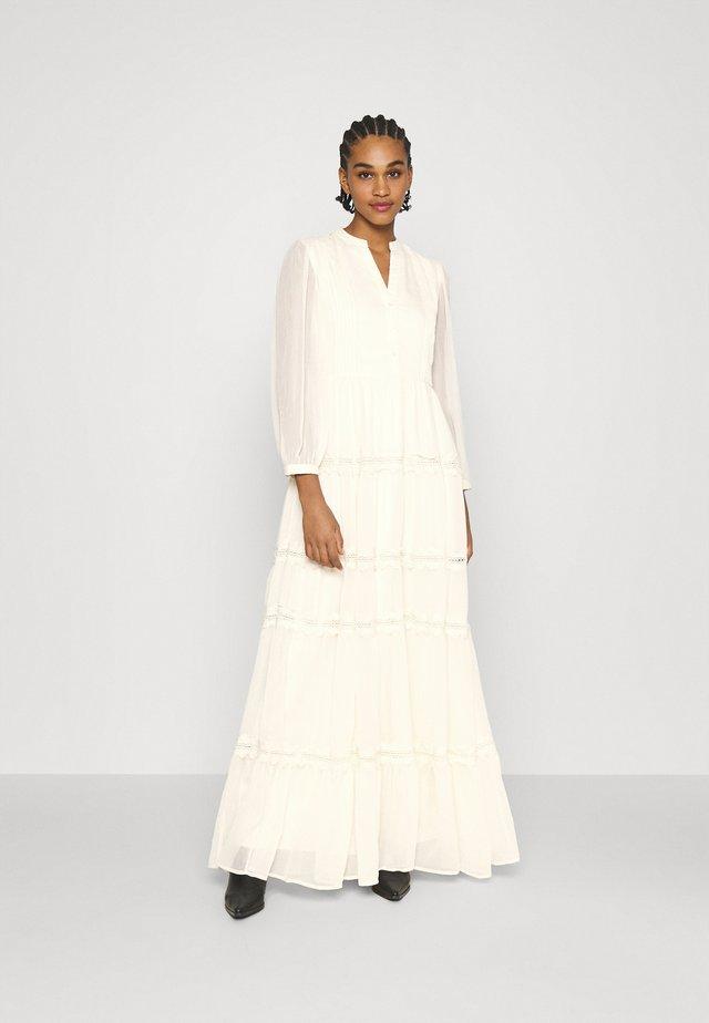 YASBLASSY MAXI DRESS  - Robe de cocktail - pearled ivory