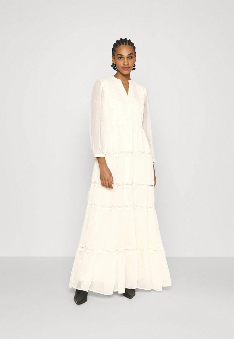 YAS - YASBLASSY MAXI DRESS  - Occasion wear - pearled ivory