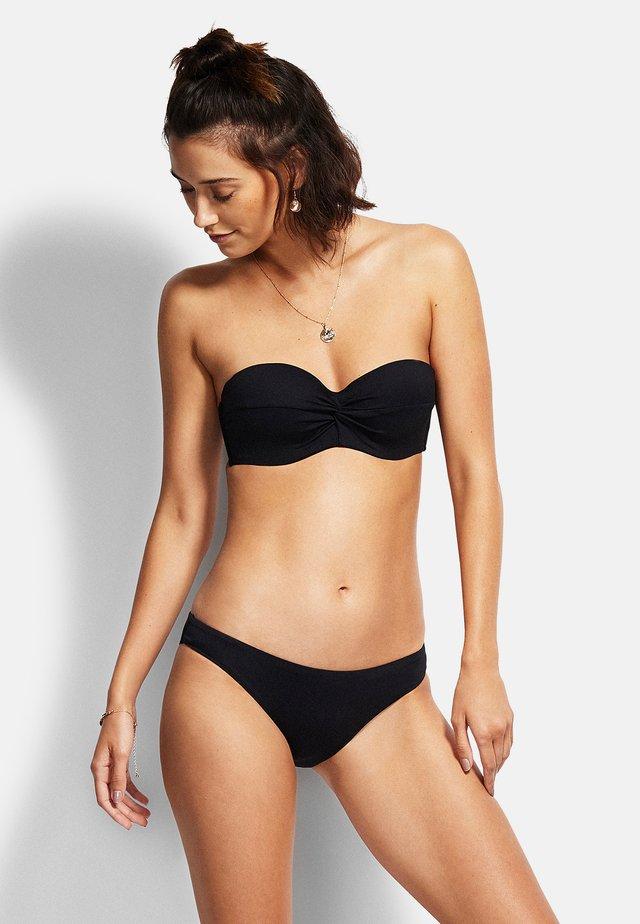 TWIST - Góra od bikini - black