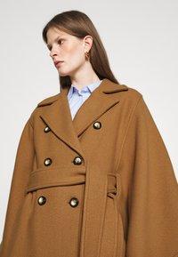 Pinko - PUERTA MANTELLA PANNO - Classic coat - camel - 3